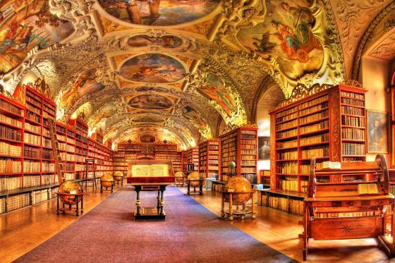 Strahov Theological Hall Prague