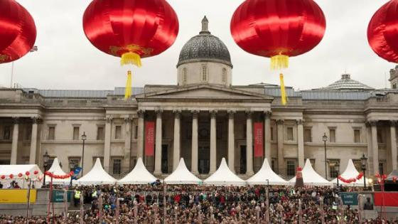 Trafalgar Square - Chinese New Year