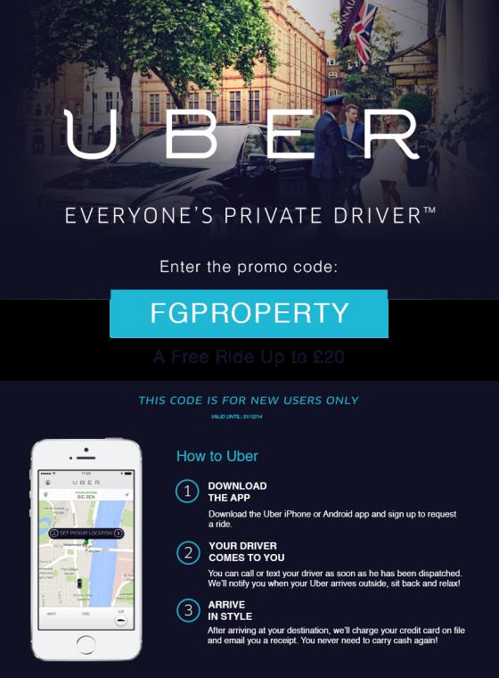 Promotional Code Uber
